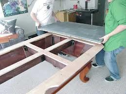 Proper pool table moving in Schenectady New York