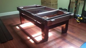Pool and billiard table set ups and installations in Schenectady New York